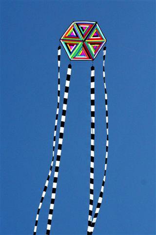 Class Scrap Heap Hexagon Kite Oregon Kitemakers Retreat